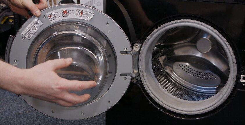 Замена стекла люка стиральной машины